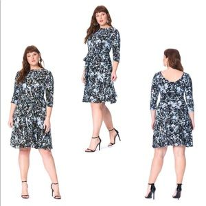 Leota ILana Reversible Dress Modern Pattern 1L 1X
